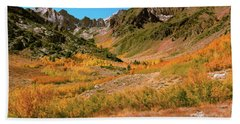 Colorful Mcgee Creek Valley Beach Towel