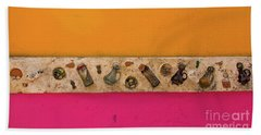 Colorful Mexico  Mexican Art By Kaylyn Franks Beach Towel