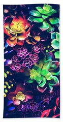 Colorful Plants  Beach Sheet