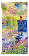 Colorful Reflections Beach Sheet