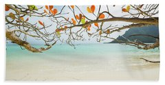 Colorful Tree North Shore Beach Towel