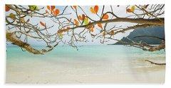 Colorful Tree North Shore Beach Towel