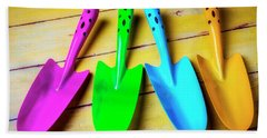 Colorful Trowels Beach Towel