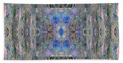 Colorized Aspen Kaleidoscope Beach Towel