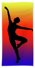 Colors Dance Beach Towel