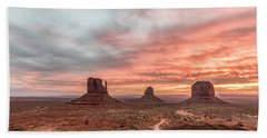 Colors In Monument Beach Towel