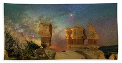 Colors Of Darkness Beach Towel
