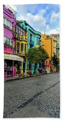 Colors Of Istanbul Beach Sheet