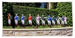 Colors Of Past Stakes At Keeneland Ky Beach Towel by Chris Smith
