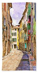 Colors Of Provence, France Beach Towel