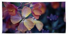 Colors Of Spring Beach Towel by Eva Lechner