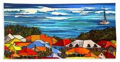 Colors Of St Martin Beach Sheet