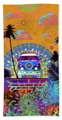 Colors Of Summer 2 Beach Towel