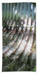 Beach Towel featuring the photograph Colors Of The Culvert by Marie Neder