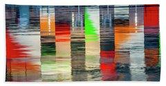 Colors Of The National Aquarium Beach Towel