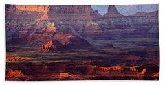 Colors Of Utah Beach Towel