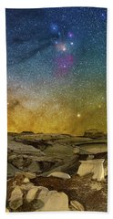 Colors On The Rise Beach Towel