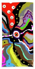 Colors Revised Beach Towel