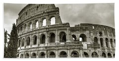 Colosseum  Rome Beach Towel
