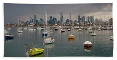 Colour Of Melbourne 2 Beach Towel by Werner Padarin