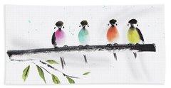 Colourful Family Beach Towel