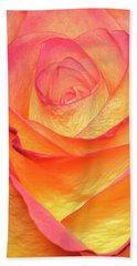 Colourful Rosie Beach Towel by Roy McPeak