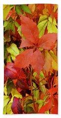 Colours Of Autumn Beach Towel