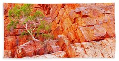 Colours Of Ormiston Gorge, Northern Territory Beach Sheet