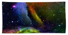 Colours Of The Universe Beach Towel
