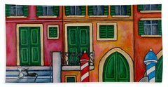 Colours Of Venice Beach Towel