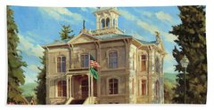 Columbia County Courthouse Beach Towel