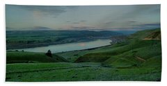 Beach Towel featuring the photograph Columbia Gorge In Early Spring by Jeff Swan