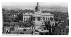 Columbia South Carolina - State Capitol Building - C 1905 Beach Towel