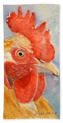 Comb And Feathers Beach Towel