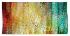 Come A Little Closer - Abstract Art Beach Sheet