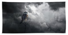 Come Away With Me Beach Towel by Heather King