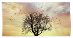 Beach Towel featuring the photograph Come Fly Away by Lori Deiter
