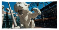 Comerica Park Entrance Beach Towel