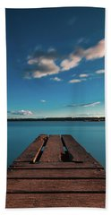 Beach Towel featuring the photograph Comfortably Numb by Davor Zerjav