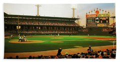 Comiskey Park  Beach Towel