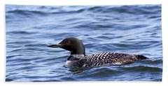 Common Loon Beach Towel