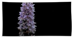 Common Spotted Orchid Beach Towel