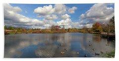 Commonwealth Lake Park In Beaverton Oregon Beach Sheet