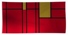 Beach Towel featuring the digital art Composition 14 by Alberto RuiZ