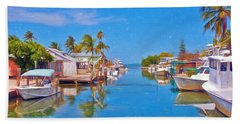 Conch Key Waterfront Living 3 Beach Towel