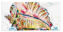 Conch Shell Beach Towel