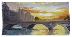 Conciergerie, Paris Beach Towel