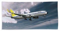 Condor Boeing 767-300  Beach Towel