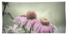 Cone Flowers Dream Beach Towel