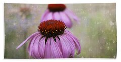 Coneflower Dream Beach Towel